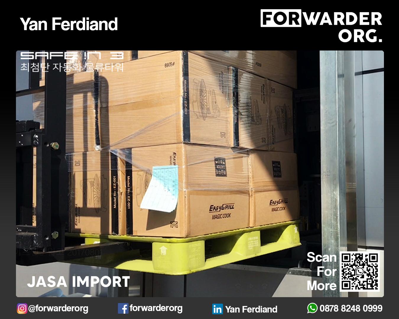 Jasa Import Mesin Produksi Pabrik Terpercaya | FORWARDER ORG