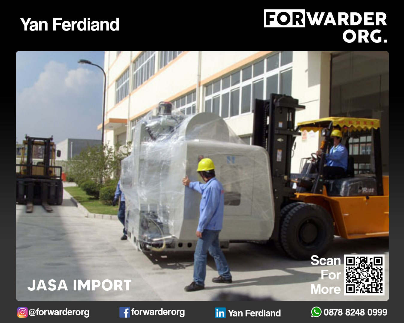 Jasa Import Barang Barang China Tanpa Minimum | FORWARDER ORG