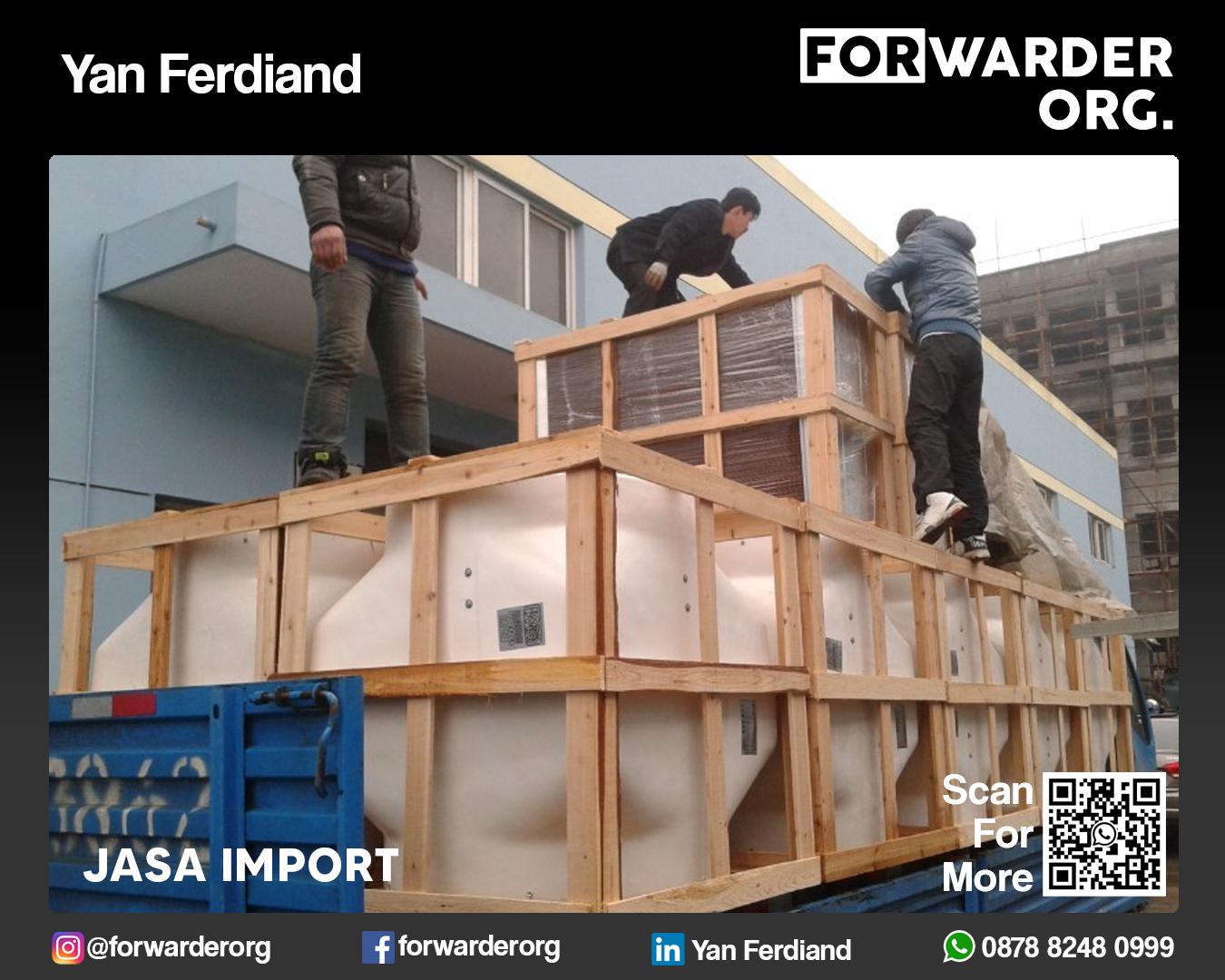 Jasa Import Barang Umum dari Asia dan Eropa | FORWARDER ORG