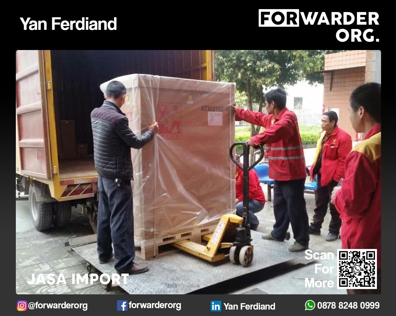 Jasa Import Barang Umum dan Lartas dari Eropa | FORWARDER ORG