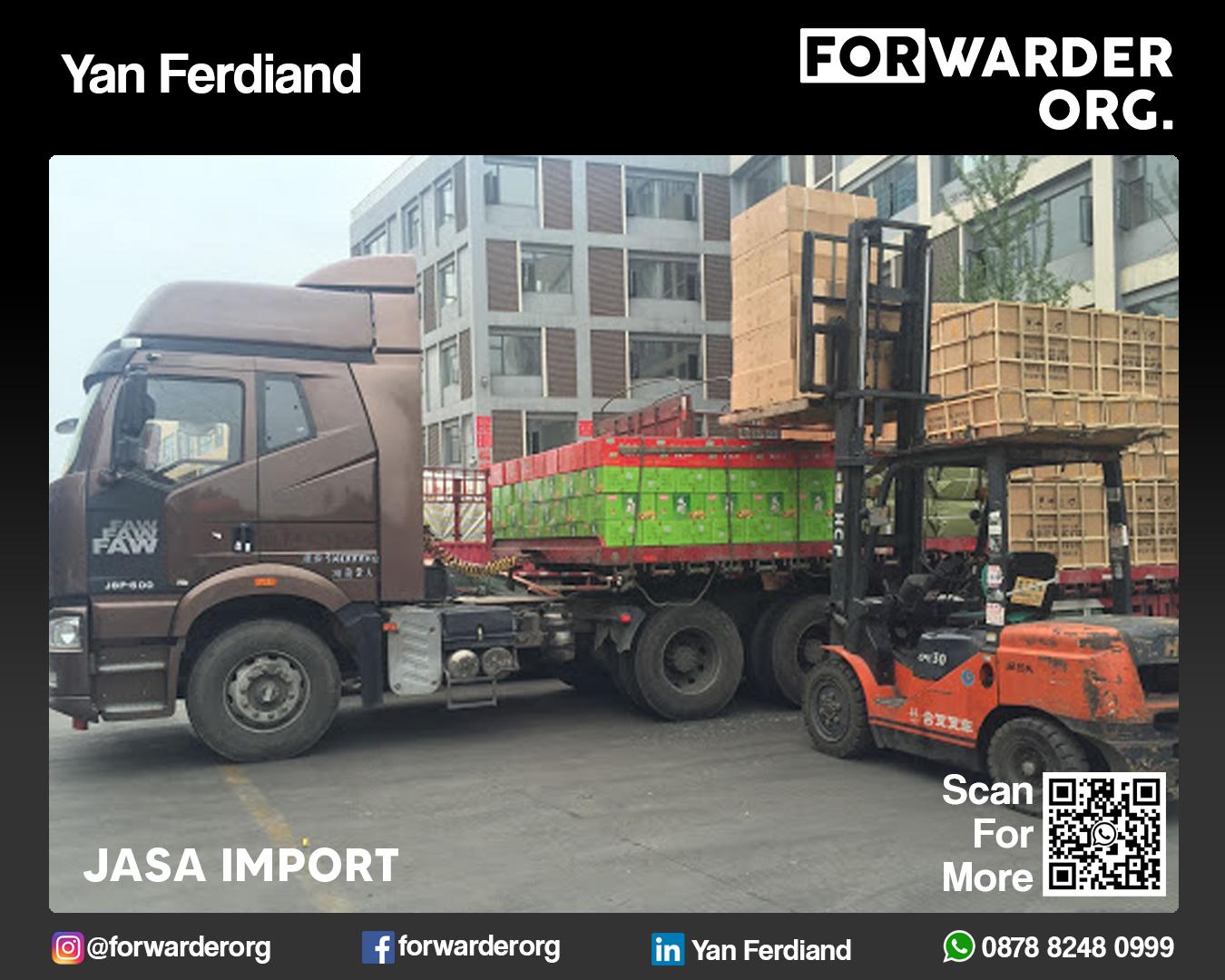 Jasa Import Mesin Pabrik dari Asia dan Eropa | FORWARDER ORG