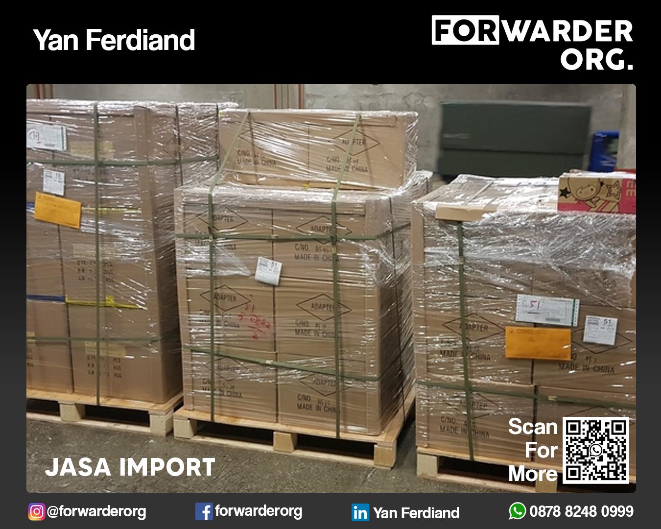 Jasa Import Sparepart Mesin Kapal LCL dan FCL | FORWARDER ORG