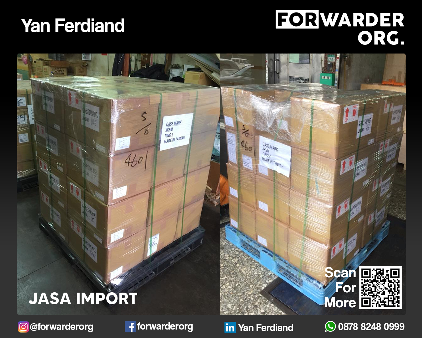 Jasa Import Sparepart Mesin dari Jepang | FORWARDER ORG