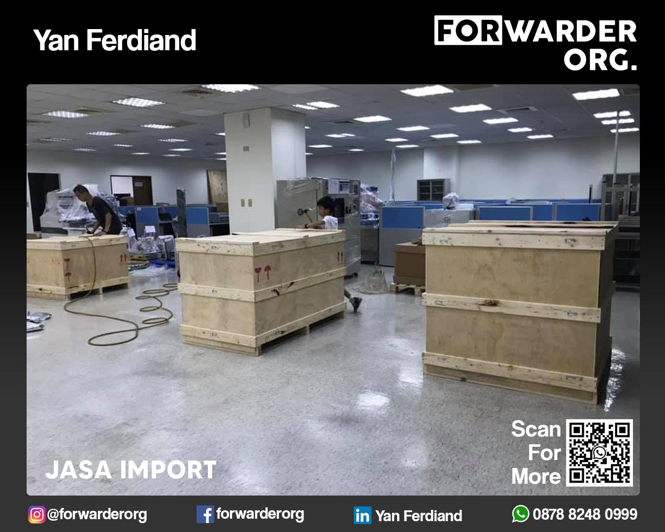 Jasa Import Mesin Baru dan Bekas dari Jepang | FORWARDER ORG