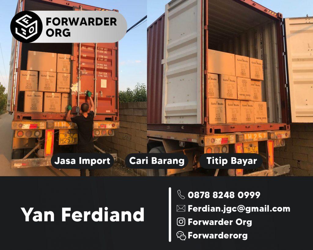 Jasa Import Instant Food dan Makanan dari China   FORWARDER ORG