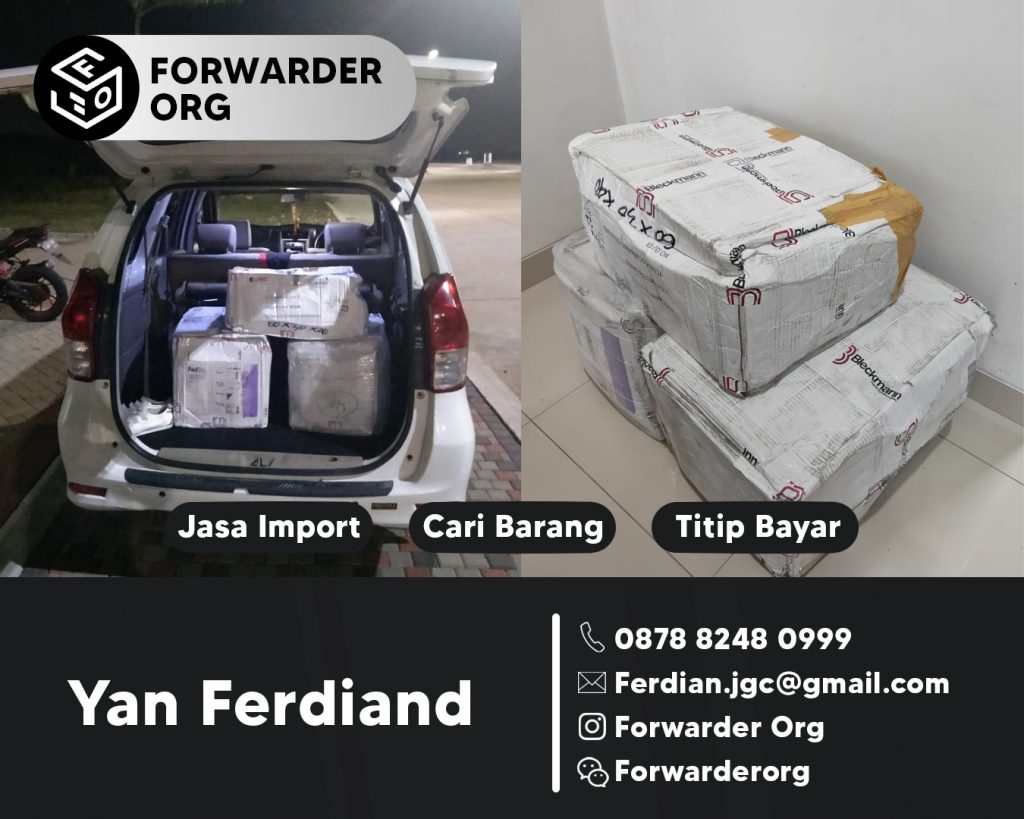 Jasa Forwarder Tas Branded dan Non Branded | FORWARDER ORG
