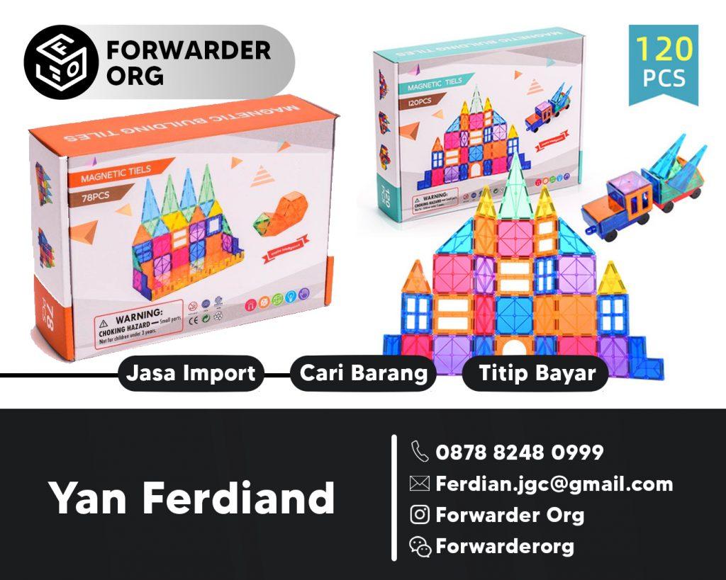 Jasa Import dan Pembelian Mainan Anak dari China | FORWARDER ORG