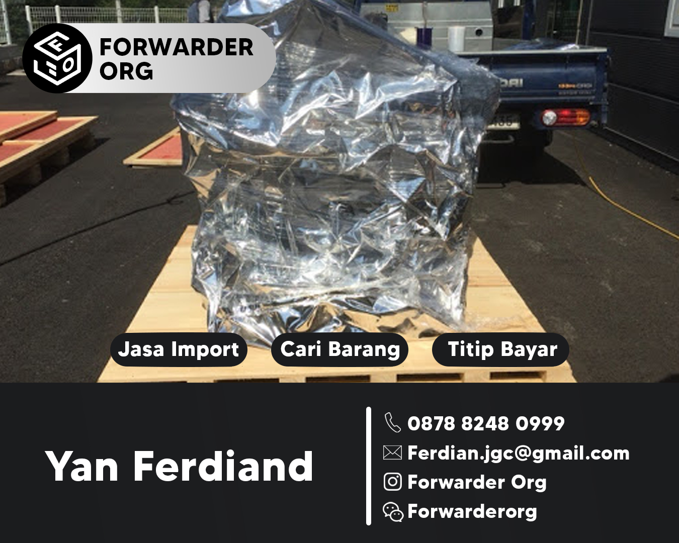 Jasa Import dan Forwarder Alibaba dan 1688 China | FORWARDER ORG