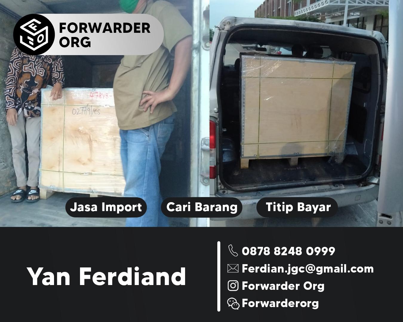 Jasa Import Sparepart Motor Gede dari Singapore | FORWARDER ORG