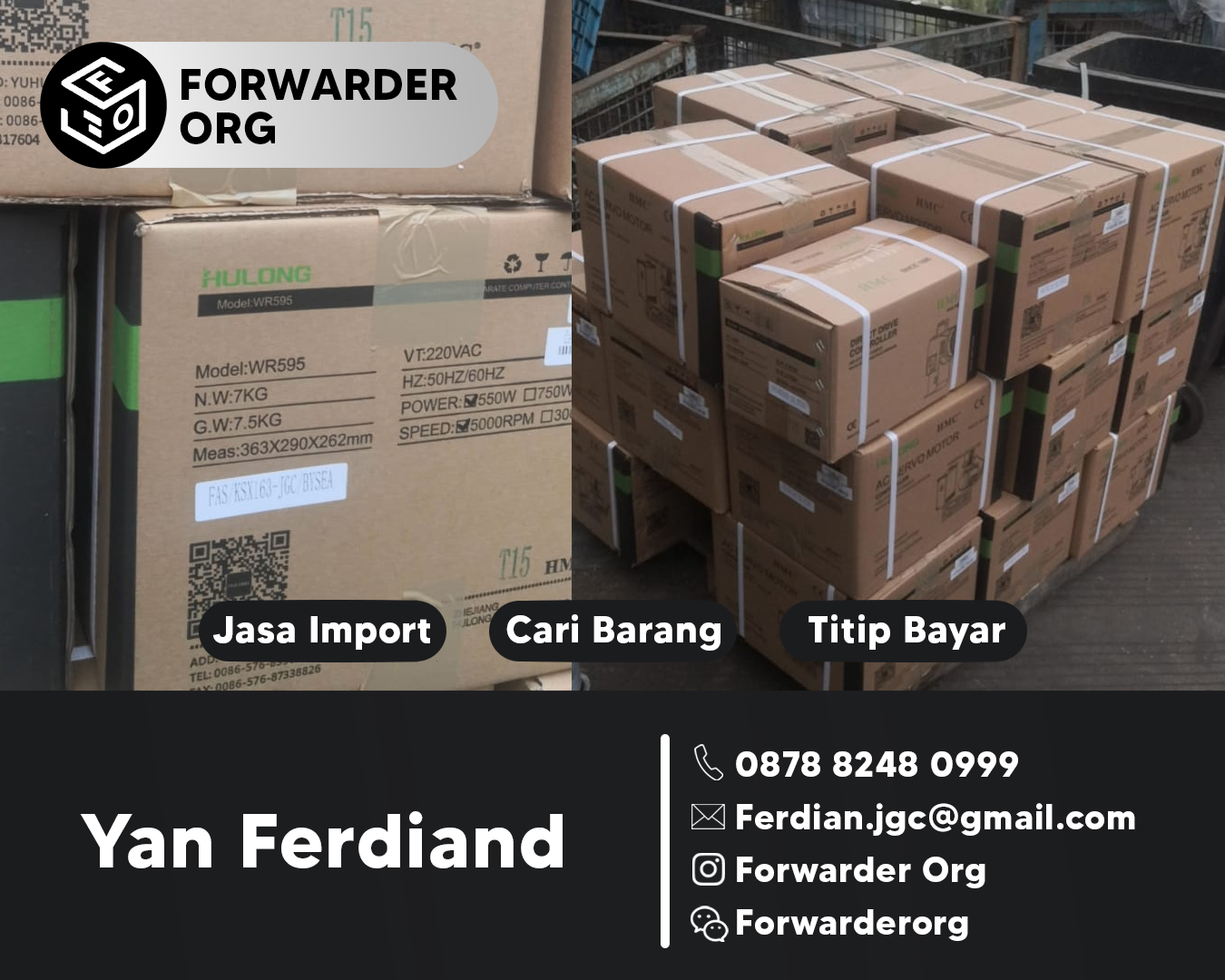 Jasa Import Mesin Jahit dan Sparepartnya | FORWARDER ORG