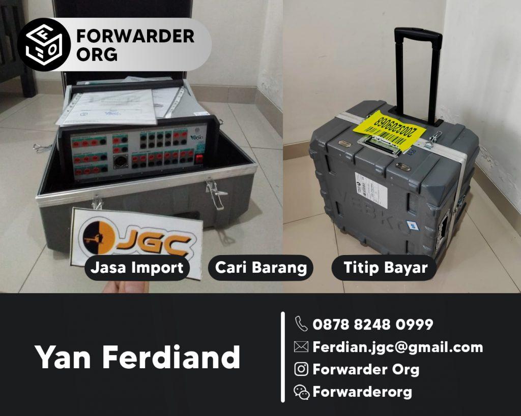 Jasa Import Mesin kelistrikan dan Sparepartnya | FORWARDER ORG