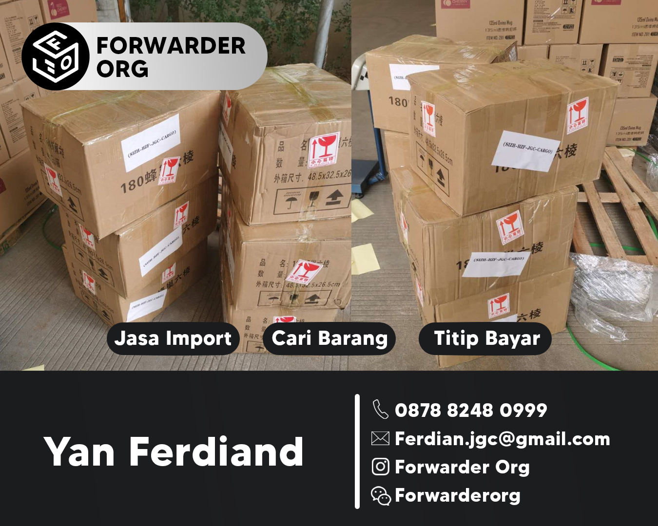 Jasa Import Glass Honey dari China By Sea By Air | FORWARDER ORG