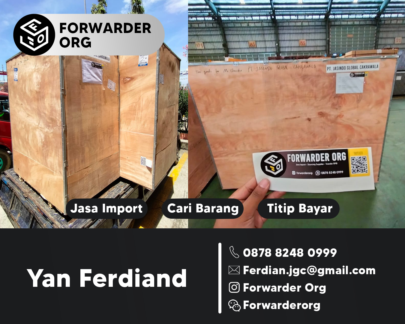 Jasa Import Mesin Test Bench dari China | FORWARDER ORG