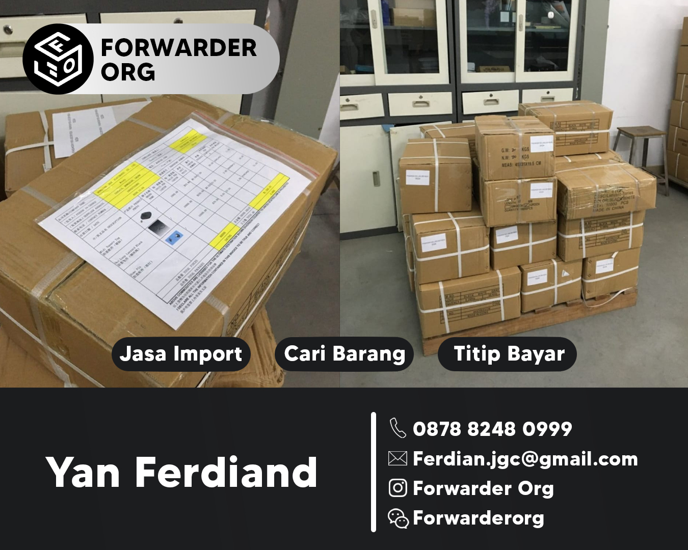 Jasa Import Walk Through Metal Detector | FORWARDER ORG