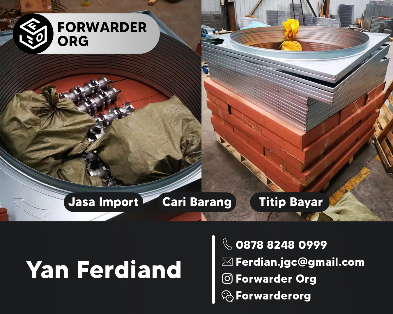 Jasa Import Exhaust Fan dan Blower dari China | FORWARDER ORG