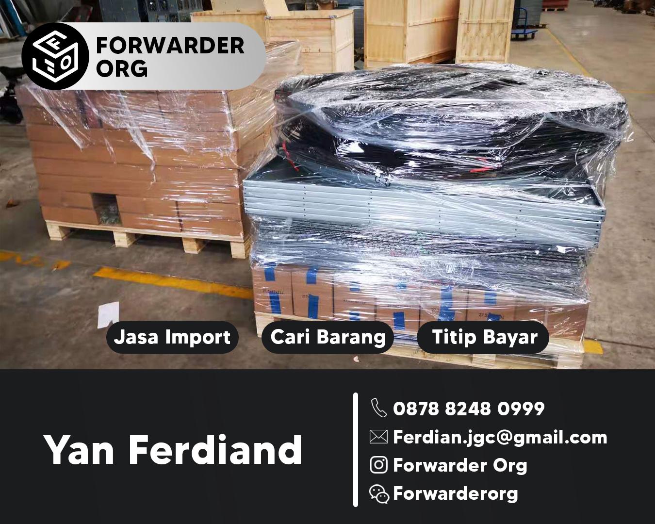 Jasa Import Blower Peternakan dari China FCL dan LCL