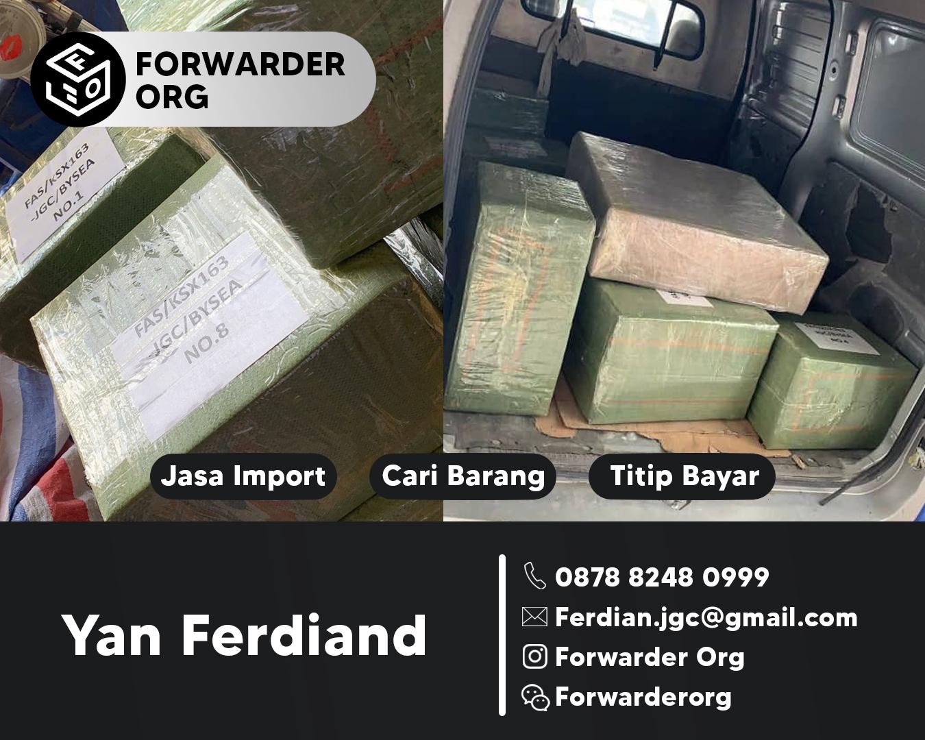 Jasa Import Sparepart Alat Berat dan Accessoriesnya