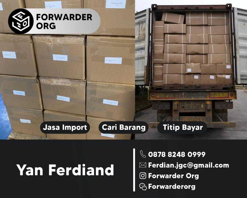 Jasa Import Benang Nylon dan Rubber dari China | FORWARDER ORG