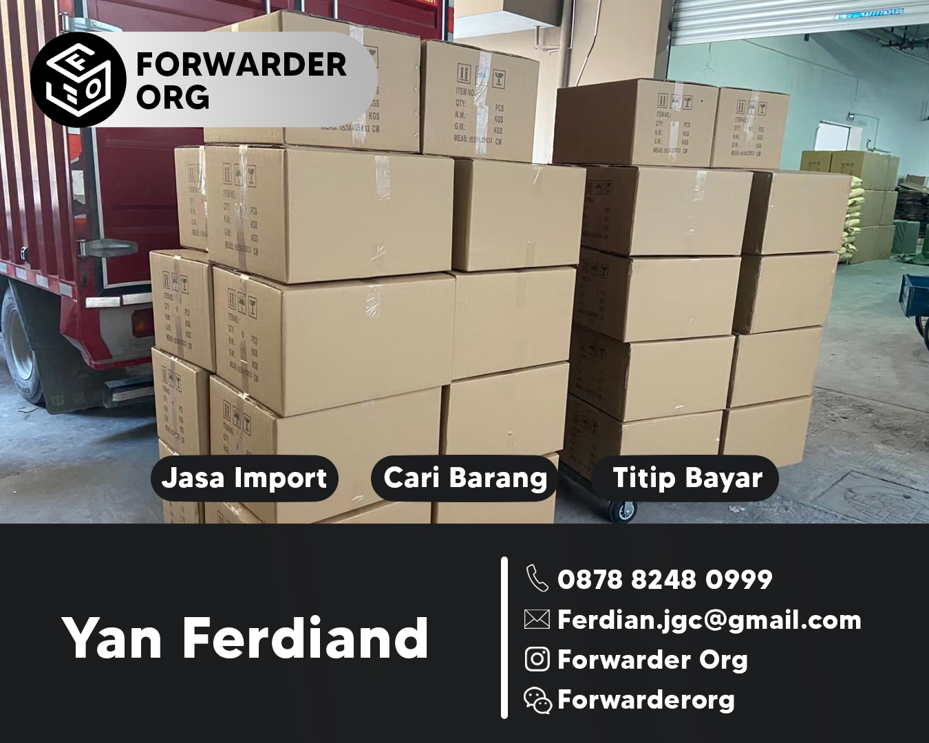 Jasa Import dari China FCL dan LCL Murah 2021 | FORWARDER ORG