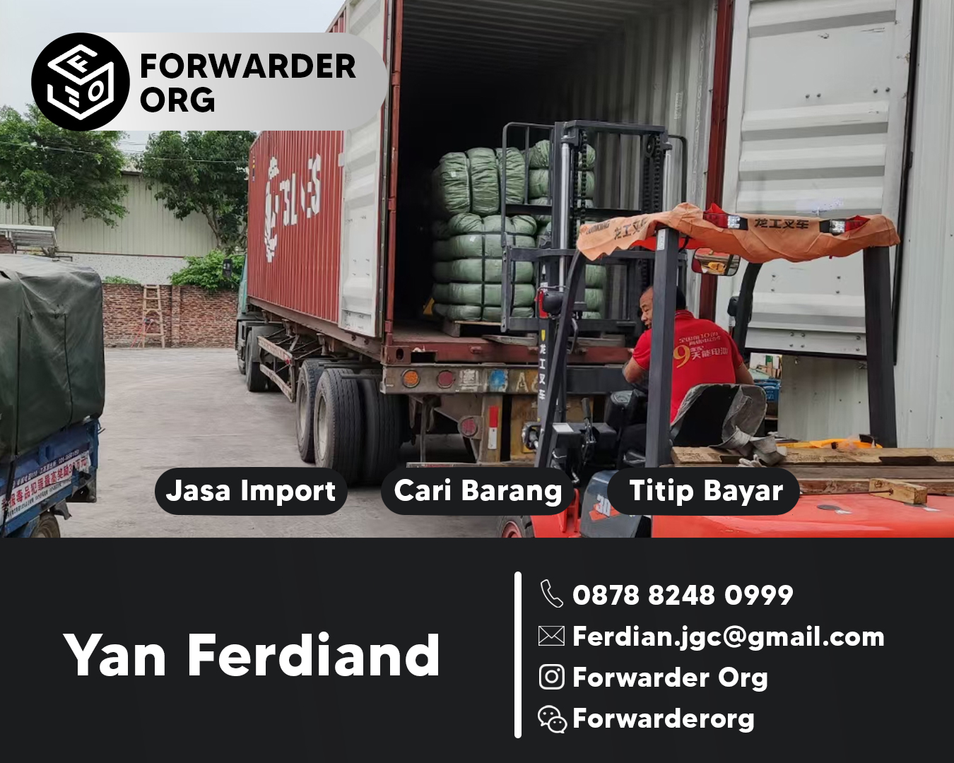 Jasa Import Barang China ke Indonesia Terpercaya | FORWARDER ORG