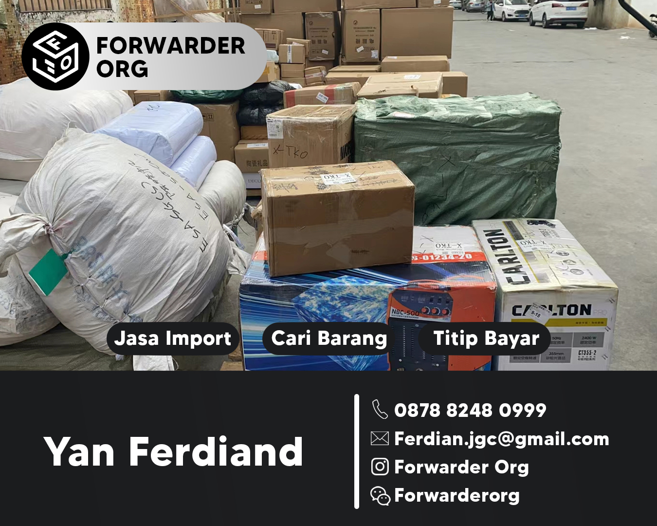 Jasa Forwarder Solusi Import China Indonesia | FORWARDER ORG