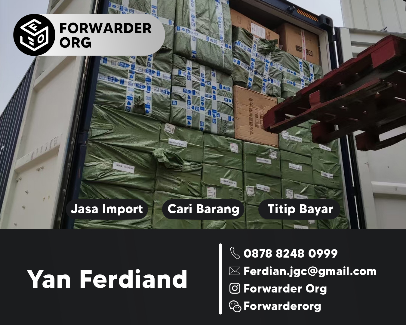 Jasa Import China dan Forwarder Cargo China | FORWARDER ORG