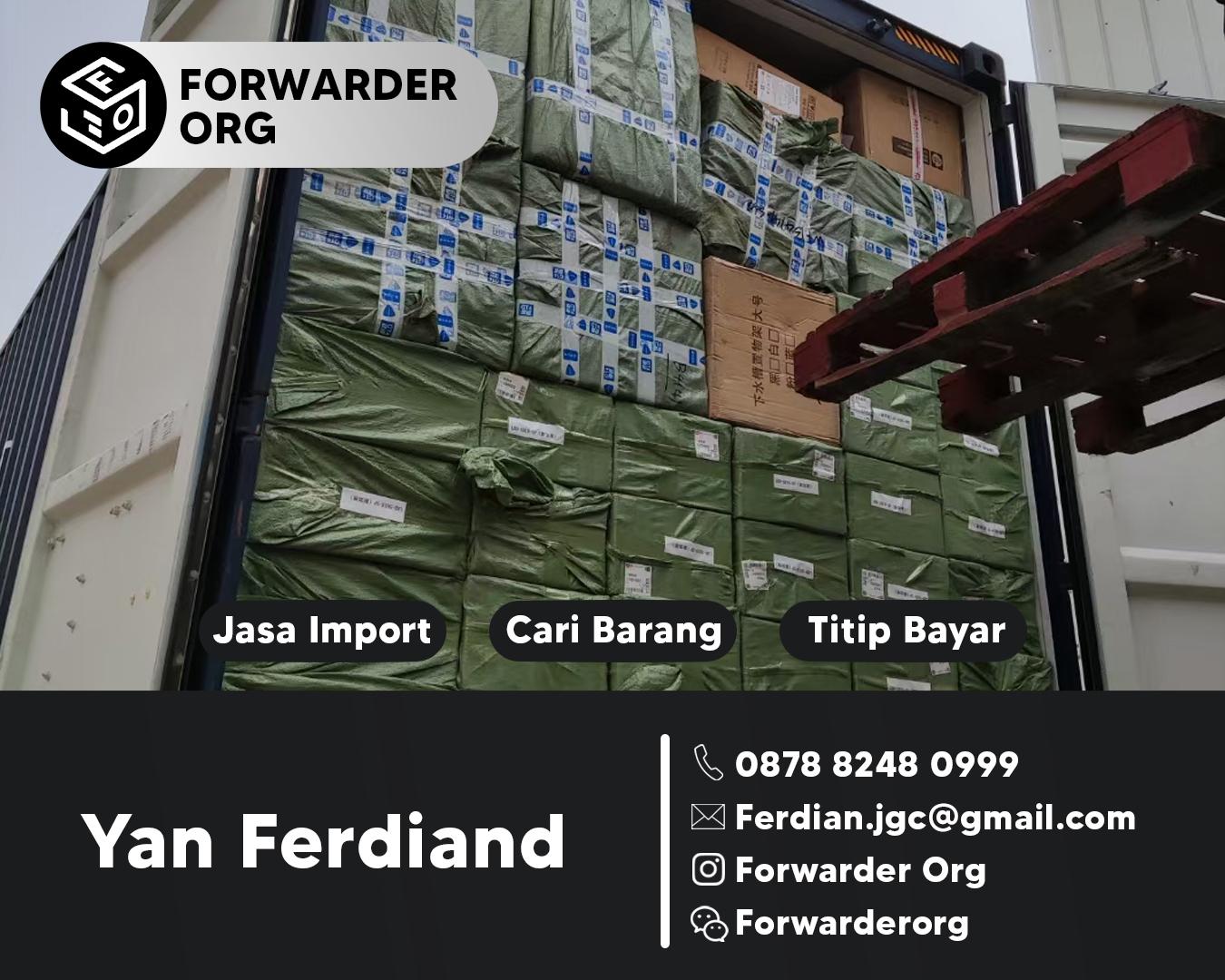 Jasa Import China dan Forwarder Cargo China   FORWARDER ORG