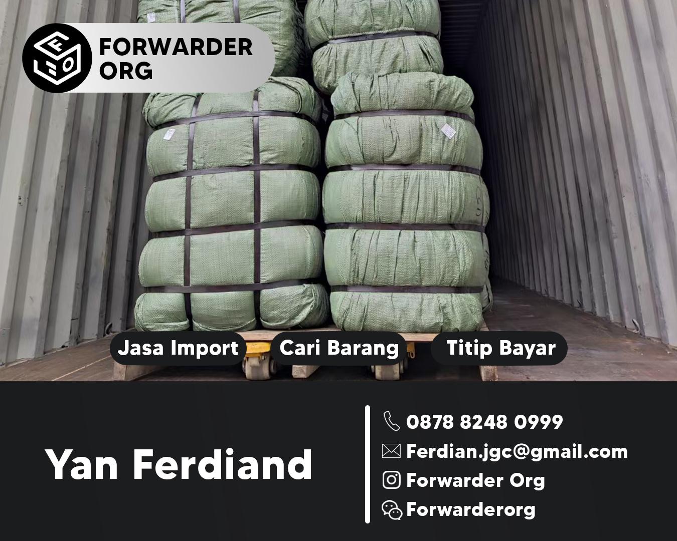 Jasa Import dari China Murah dan Pengiriman Cepat | FORWARDER ORG