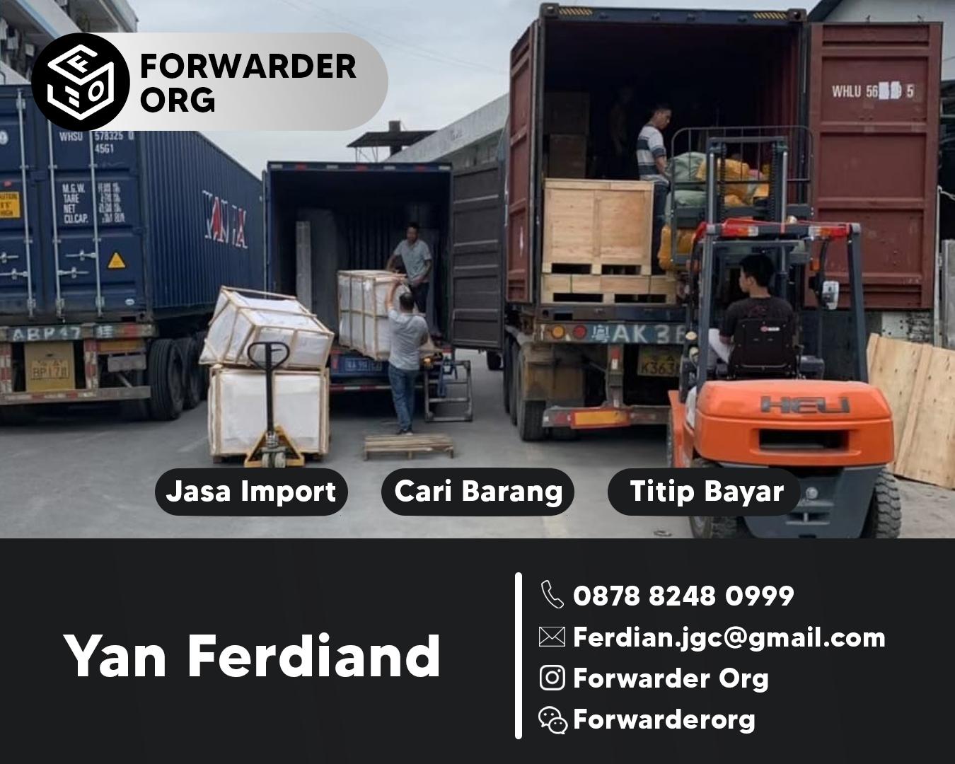 Jasa Import Sparepart Alat Berat dari China | FORWARDER ORG