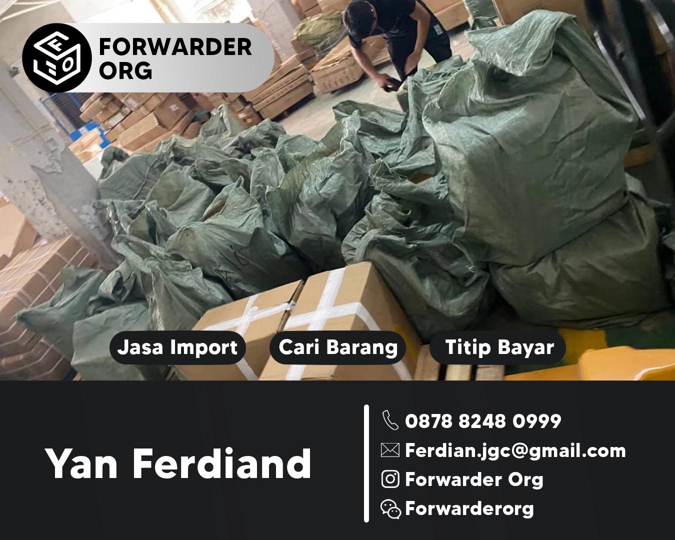 Import Barang dari China Terpercaya dan Termurah | FORWARDER ORG