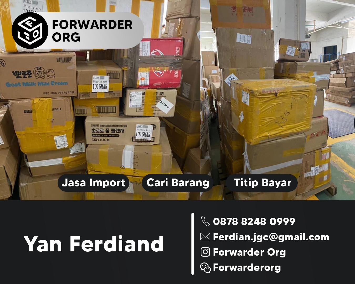Import Barang dari Singapore Termurah Terpercaya | FORWARDER ORG