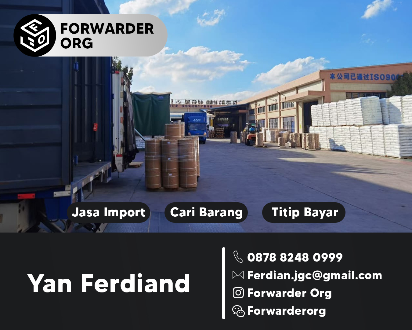 Jasa Import Lakban dan Packaging dari China | FORWARDER ORG