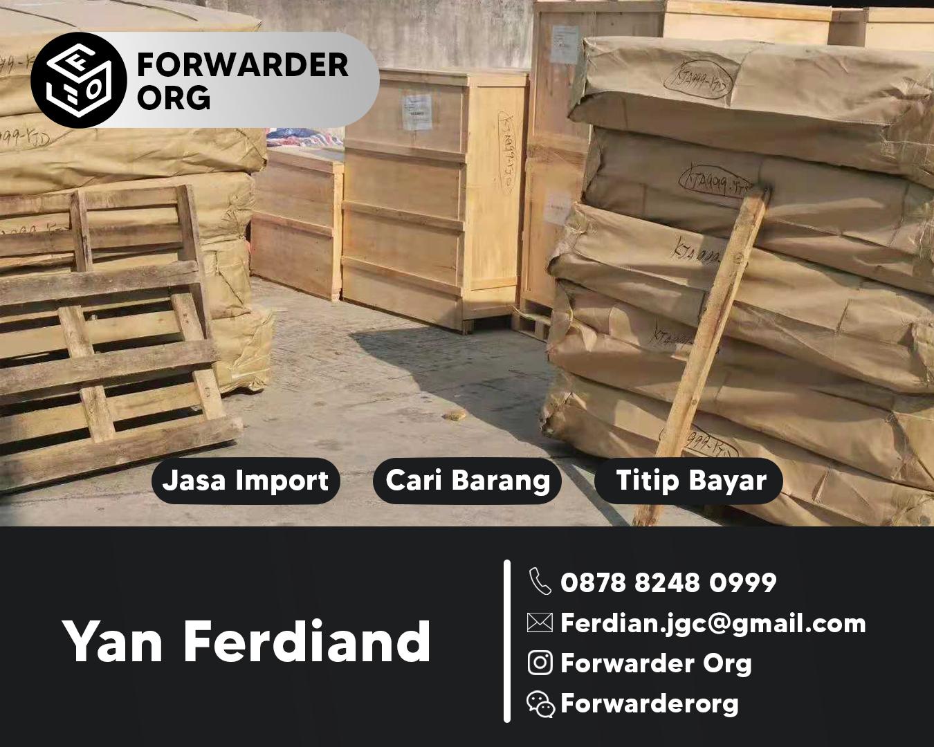 Jasa Import Malaysia Harga Istimewa Terpercaya | FORWARDER ORG