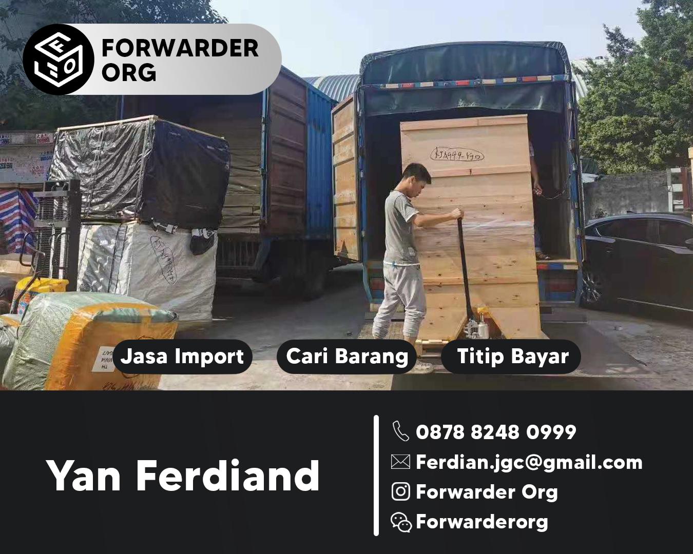 Jasa Import Singapore Resmi Borongan Jempolan | FORWARDER ORG