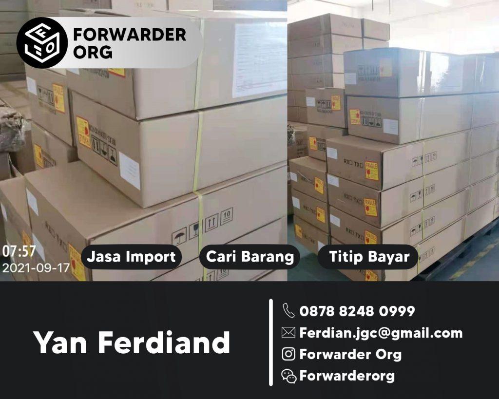 Jasa Import dari China Resmi Borongan Jempolan | FORWARDER ORG
