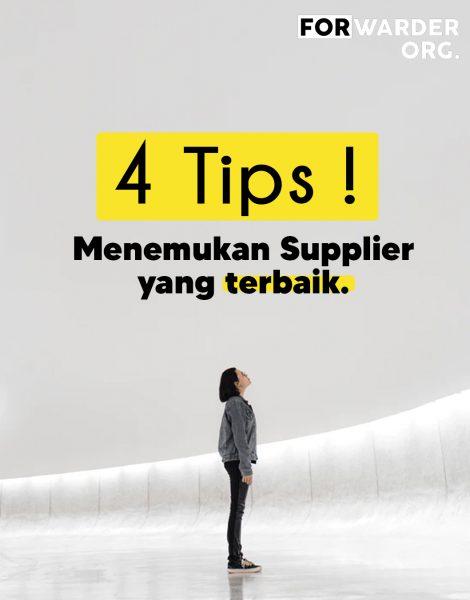 4 Tips Menemukan Supplier Terbaik di Marketplace | FORWARDER ORG